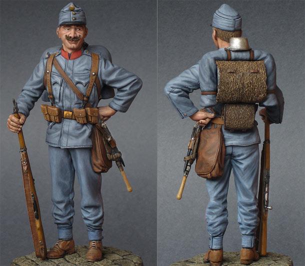 Фигурки: Австрийский пехотинец, 1914 год