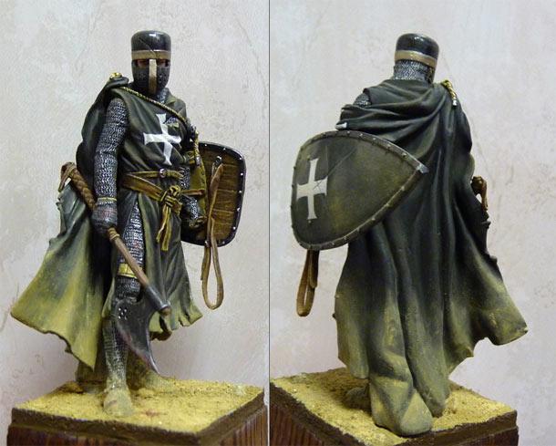 Фигурки: Брат-рыцарь ордена Госпитальеров