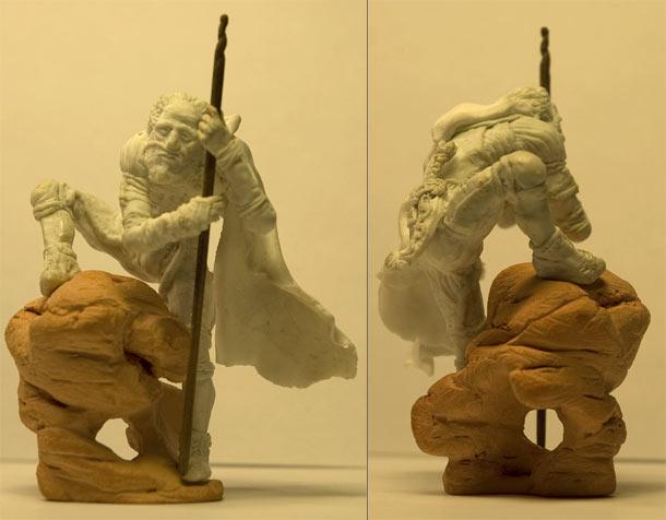 Скульптура: Фримен