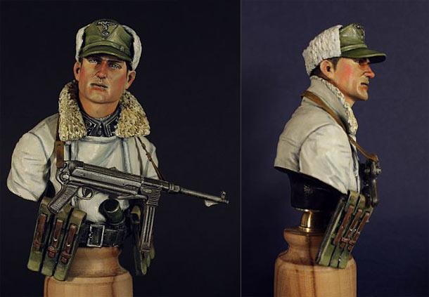 Фигурки: Боец дивизии Totenkopf, 1945