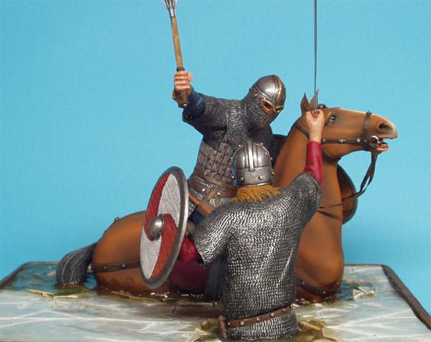 Диорамы и виньетки: Поединок викингов