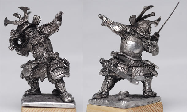 Скульптура: Японский самурай, XV-XVI вв.