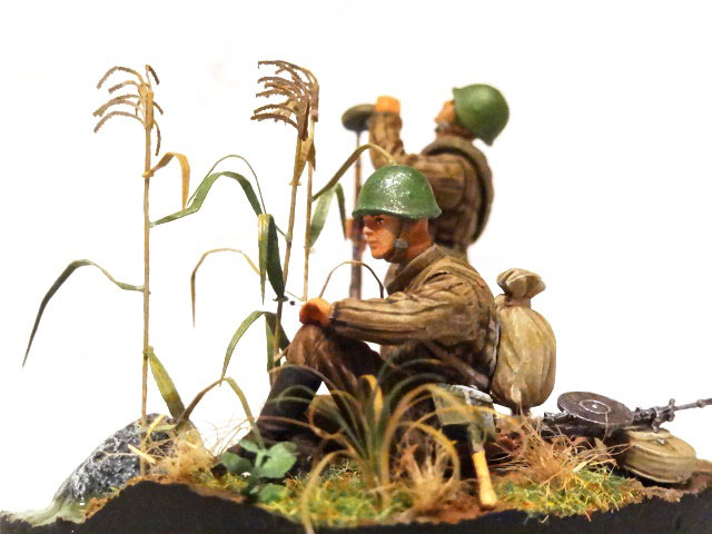 Диорамы и виньетки: Советские пулеметчики, фото #10