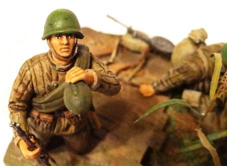 Диорамы и виньетки: Советские пулеметчики, фото #11