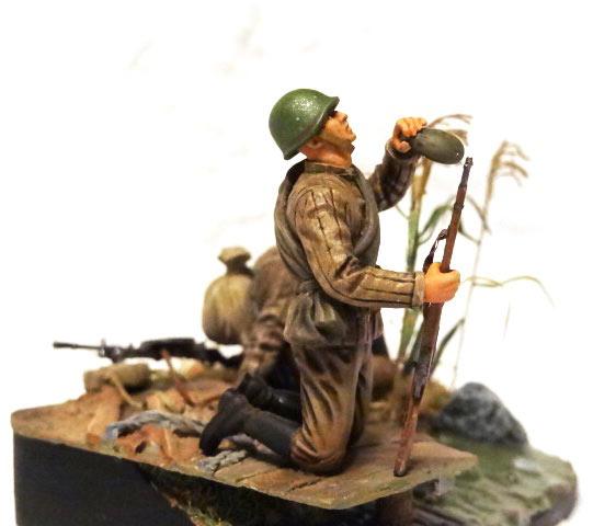 Диорамы и виньетки: Советские пулеметчики, фото #2