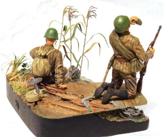 Диорамы и виньетки: Советские пулеметчики, фото #3