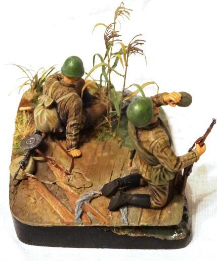 Диорамы и виньетки: Советские пулеметчики, фото #4