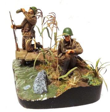Диорамы и виньетки: Советские пулеметчики, фото #5