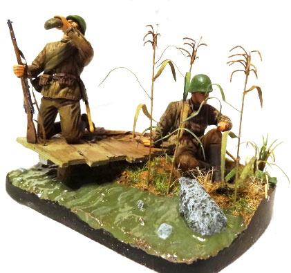 Диорамы и виньетки: Советские пулеметчики, фото #6