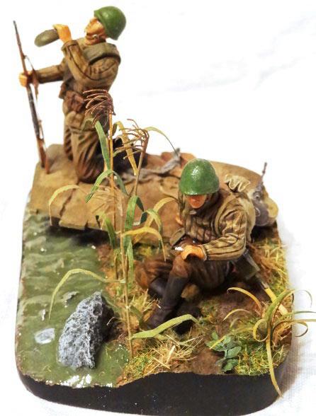 Диорамы и виньетки: Советские пулеметчики, фото #7