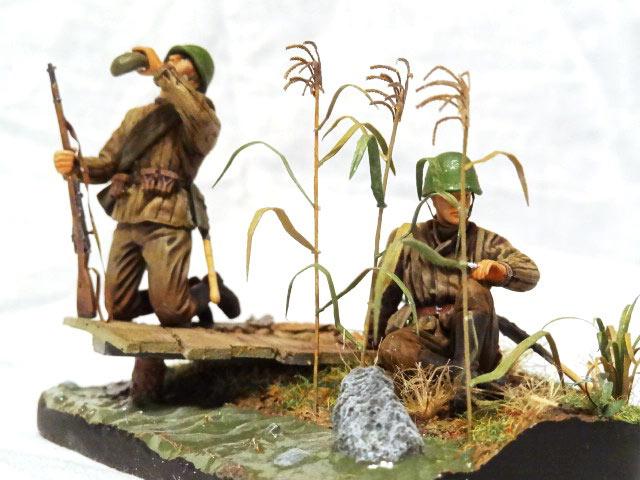 Диорамы и виньетки: Советские пулеметчики, фото #8