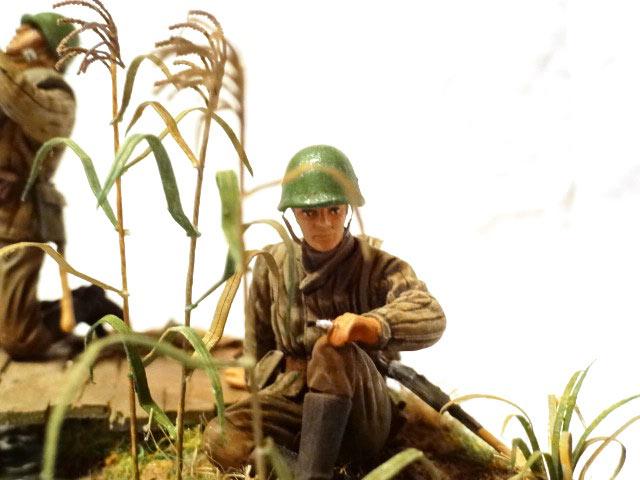 Диорамы и виньетки: Советские пулеметчики, фото #9