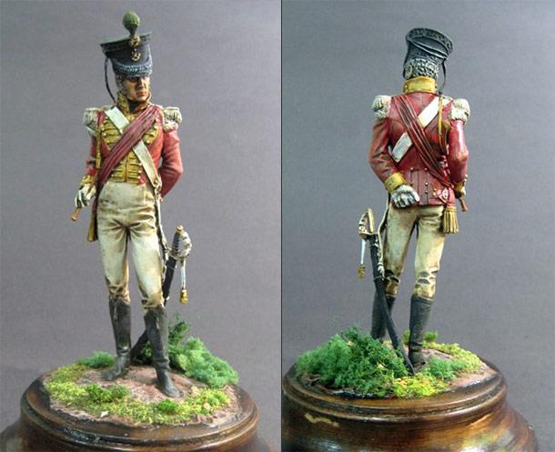 Фигурки: Офицер 71го пехотного полка (Higlands Light Infantry)