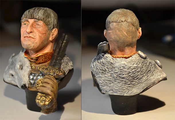 Фигурки: Знатный нормандец, XI век.