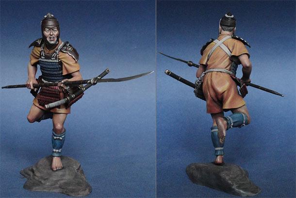 Фигурки: Асигару (Япония, XIII-XIV вв.)