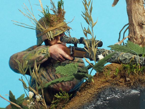 Диорамы и виньетки: Немецкий снайпер