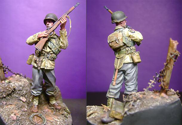 Фигурки: Рядовой 327-го пехотно-планёрного полка
