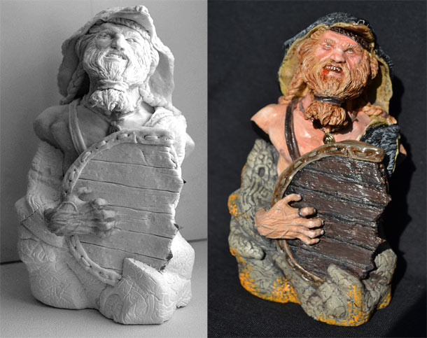 Скульптура: Берсерк