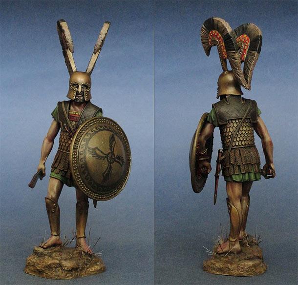 Фигурки: Греческий гоплит. Фермопилы, 480 г. до н.э.