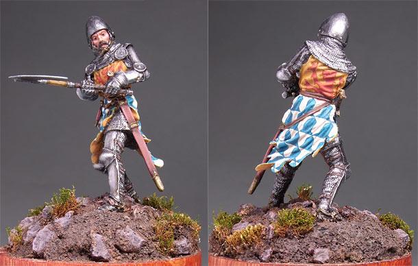Фигурки: Западноевропейский рыцарь, середина XIV в.