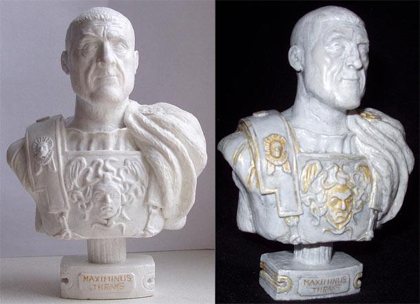 Скульптура: Максимин Фракиец