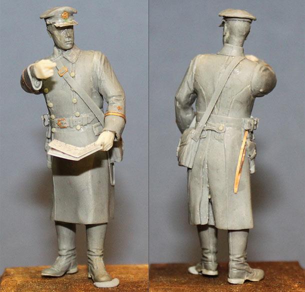Скульптура: Лейтенант, ВМФ СССР, 1939-43г.