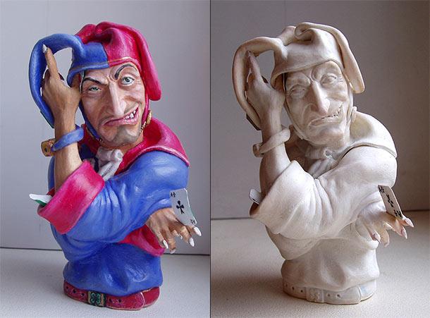 Скульптура: Шут