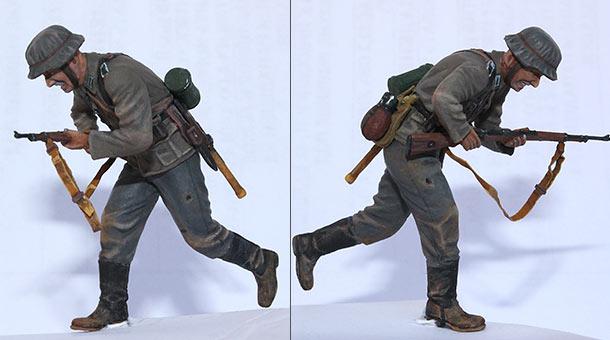 Фигурки: Пехотинец Вермахта