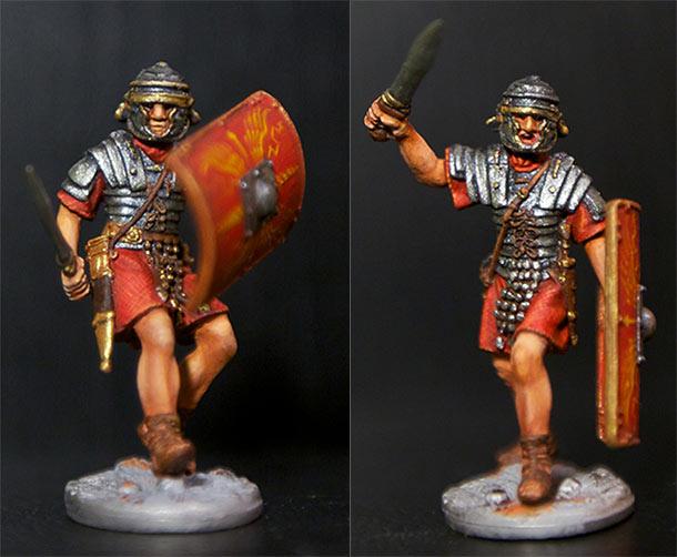 Фигурки: Римляне и варвар