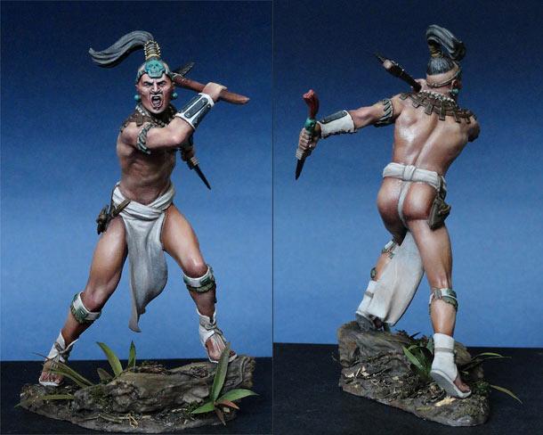 Фигурки: Воин майя, XVI в.