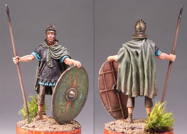Фигурки: Пехотинец римских вспомогательных когорт