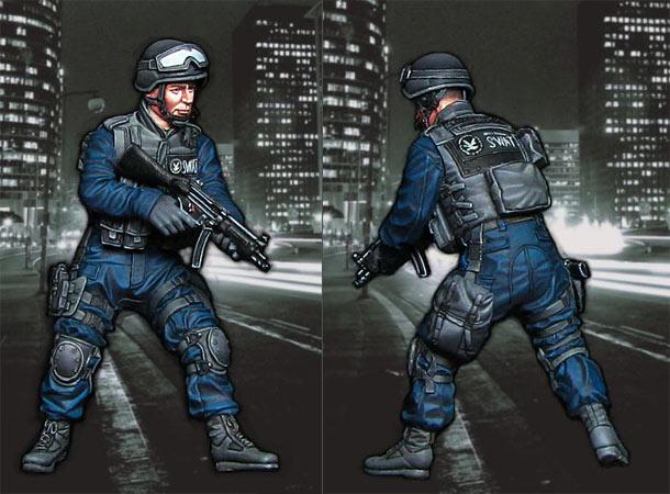 Фигурки: Боец SWAT