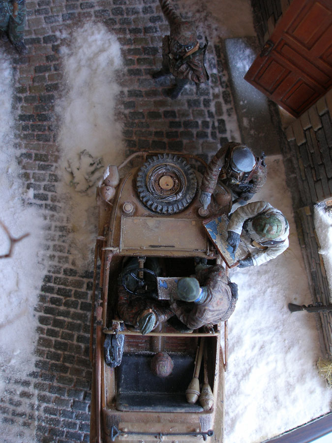 Диорамы и виньетки: Вахта на Рейне, фото #23