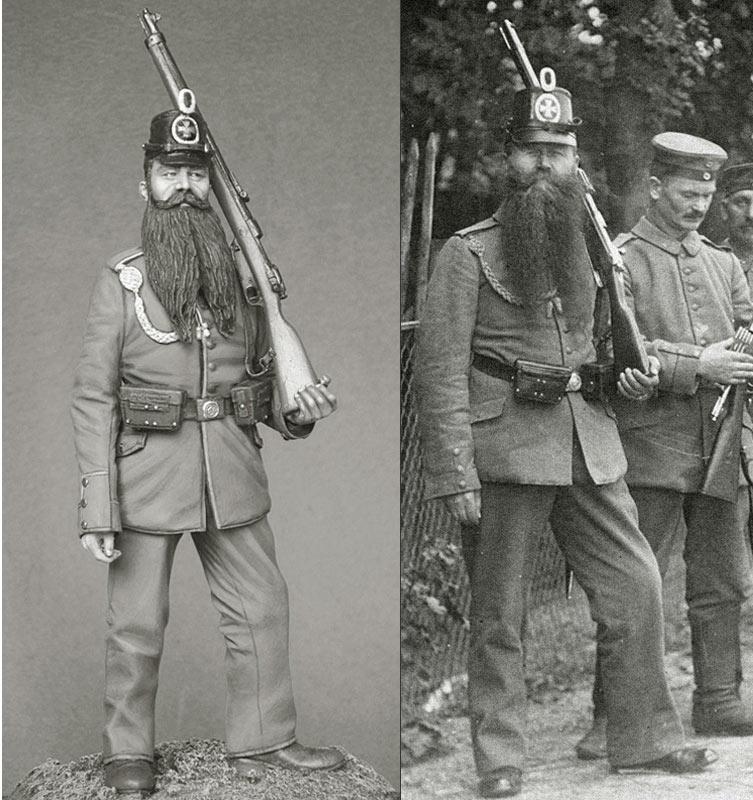 Фигурки: Ландштурмист, 1914, фото #7
