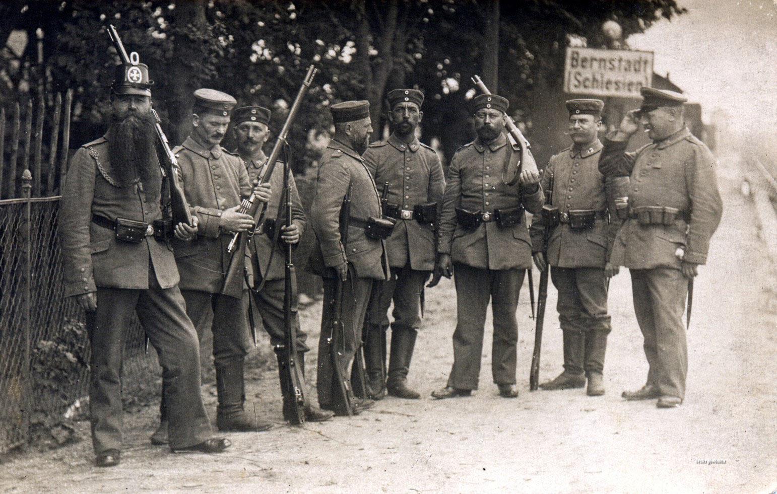 Фигурки: Ландштурмист, 1914, фото #8
