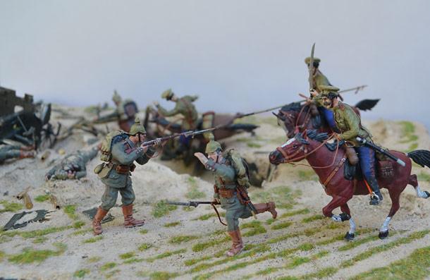 Учебка: Атака казаков. 1914 г. Восточная Пруссия.