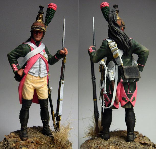 Фигурки: Драгун 18-го полка, 1805 г.
