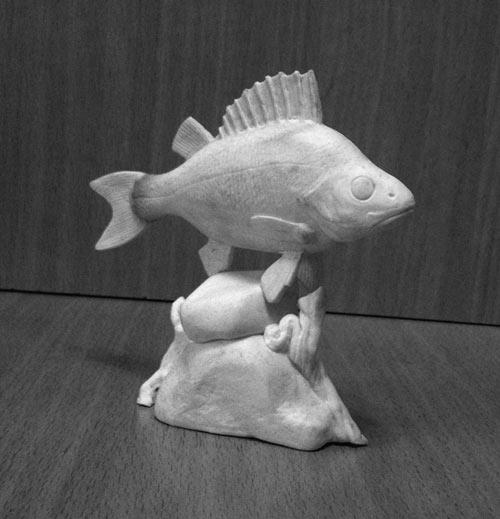 Скульптура: Окунь, фото #4