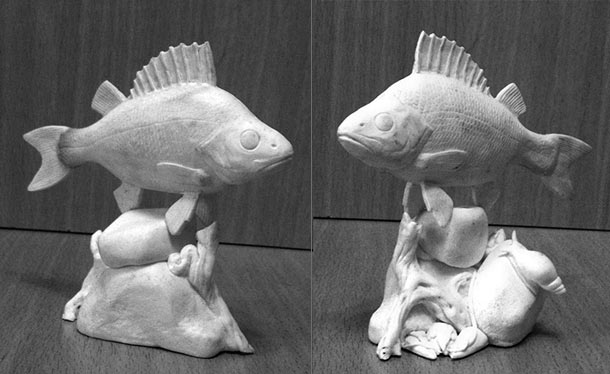 Скульптура: Окунь