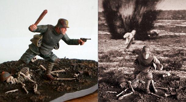 Фигурки: Германский штурмовик, 1917
