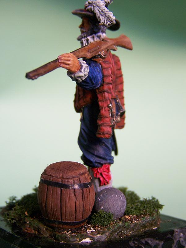 Фигурки: Английский мушкетёр-ветеран, 1588 г., фото #5