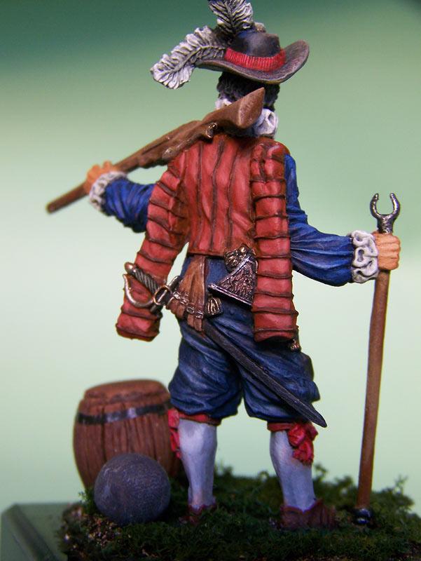 Фигурки: Английский мушкетёр-ветеран, 1588 г., фото #6
