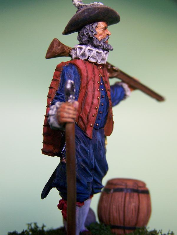 Фигурки: Английский мушкетёр-ветеран, 1588 г., фото #7