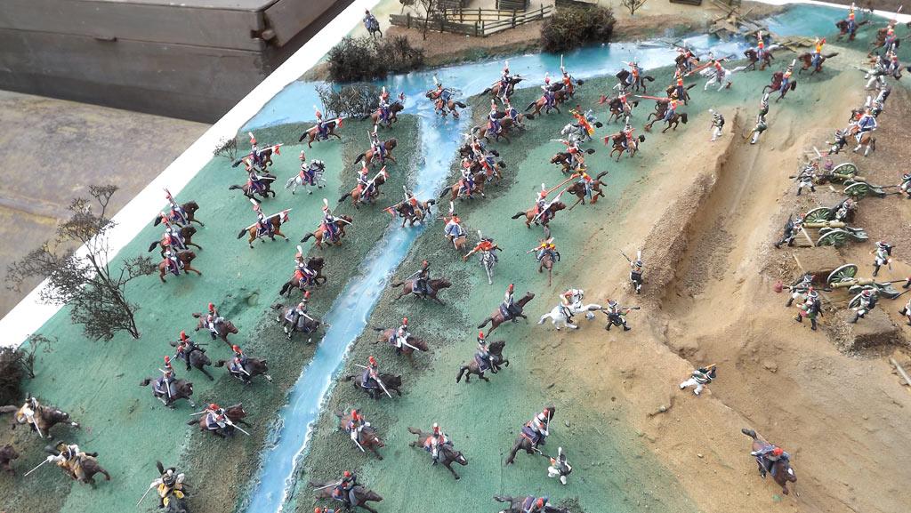 Диорамы и виньетки: Селенгинский пехотный полк в Бородинском сражении, фото #1