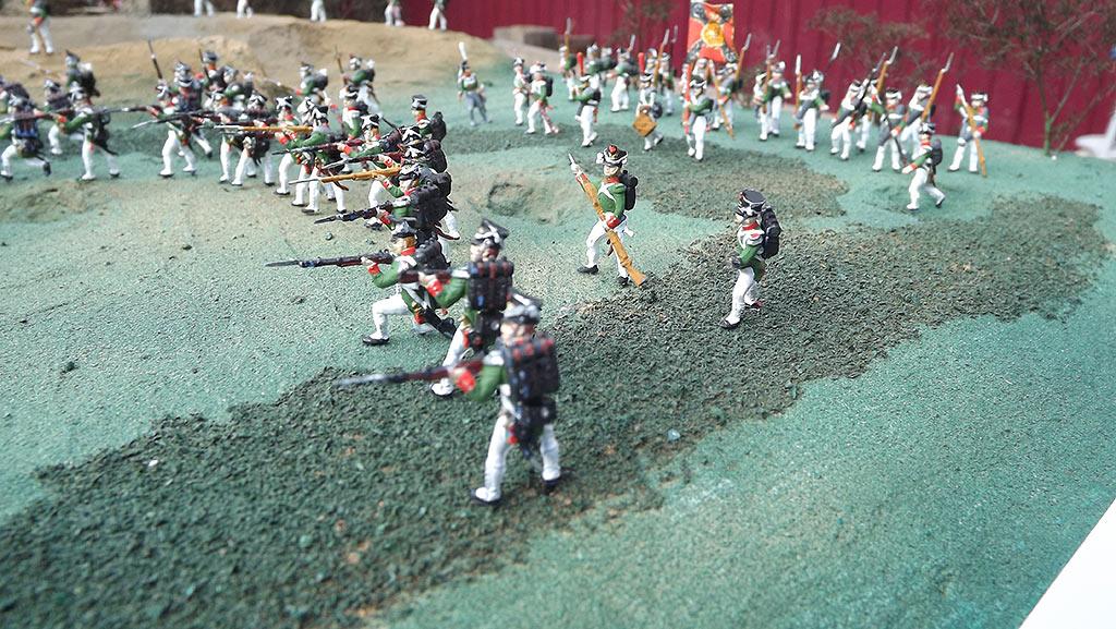 Диорамы и виньетки: Селенгинский пехотный полк в Бородинском сражении, фото #10
