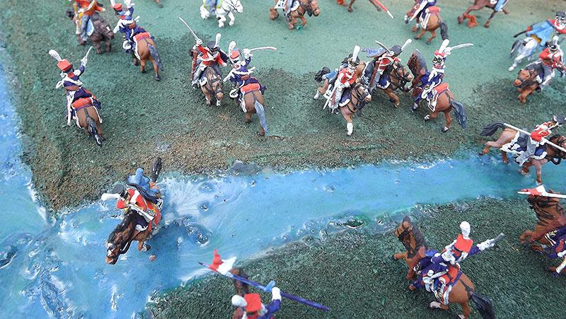 Диорамы и виньетки: Селенгинский пехотный полк в Бородинском сражении, фото #12