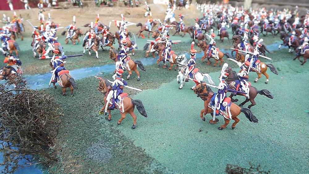 Диорамы и виньетки: Селенгинский пехотный полк в Бородинском сражении, фото #13