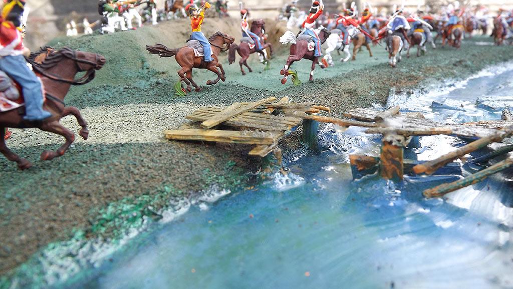 Диорамы и виньетки: Селенгинский пехотный полк в Бородинском сражении, фото #14
