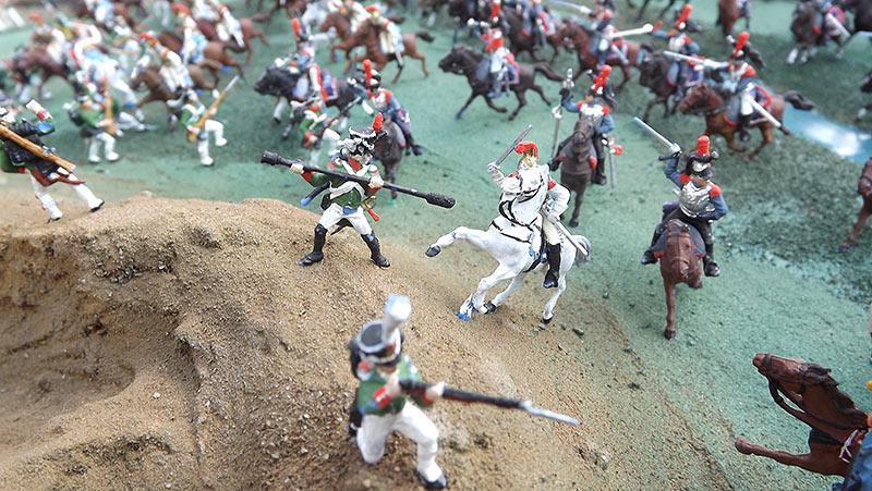 Диорамы и виньетки: Селенгинский пехотный полк в Бородинском сражении, фото #16