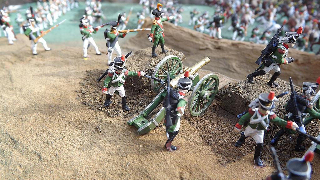 Диорамы и виньетки: Селенгинский пехотный полк в Бородинском сражении, фото #17